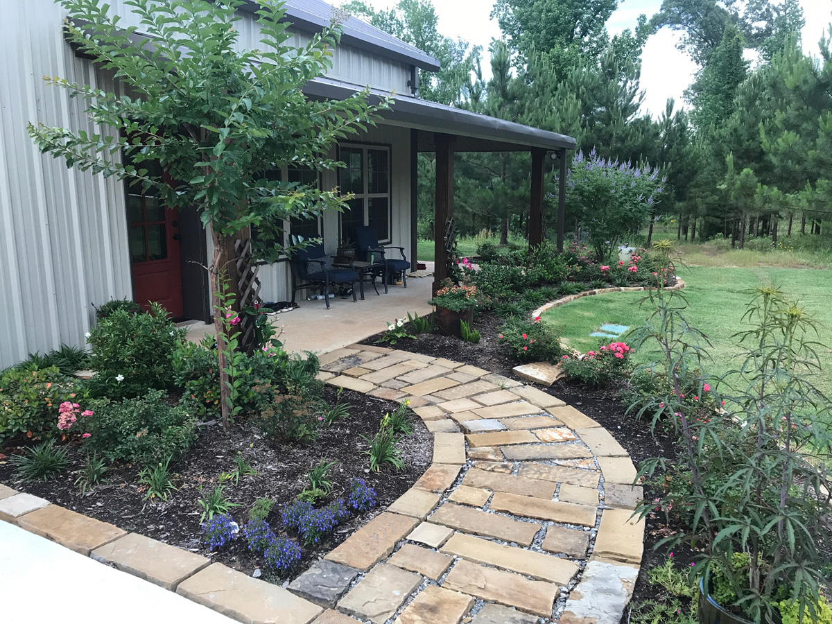 East texas landscape and irrigation east texas quality for Texas landscape design